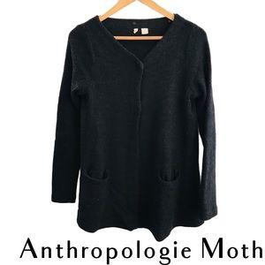 Anthropologie MOTH Black Cardigan Sweater
